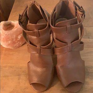 Leather Fall Sandels